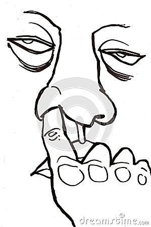 Gross Nose Picker