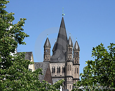 Gross St. Martin (Great Saint Martin), Cologne