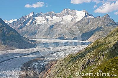 Grosser Aletschgletcher (glacier)