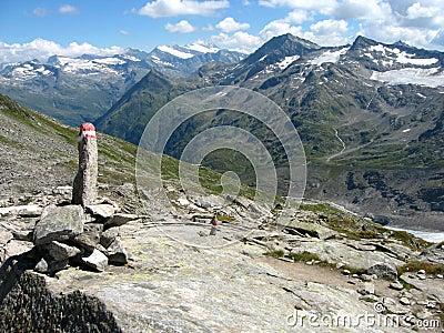 Grossvenediger - alpine landscape