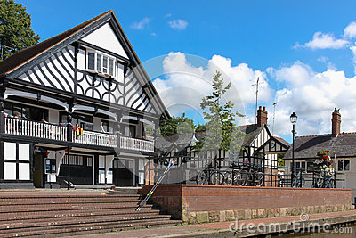 Grosvenor rowing club. Chester. England Editorial Photo