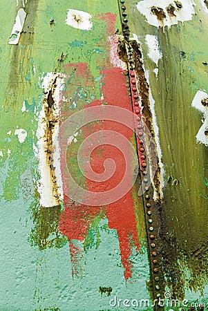 Grot grunge rust paint