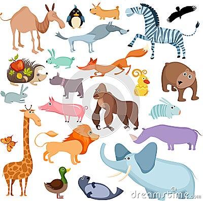 Grote dierlijke reeks