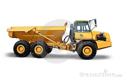 Grote industriële vrachtwagen