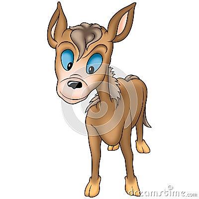 Grotesque burro