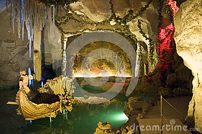 Grotto of Venus in Linderhof castle, Bavaria