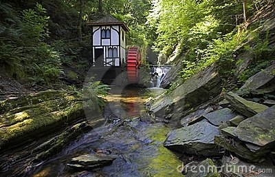 Groudle Glen Waterwheel