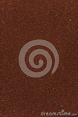 Ground coffee background