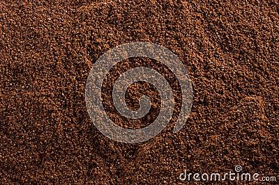 Ground Coffee Texture