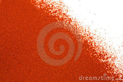 Ground paprika background