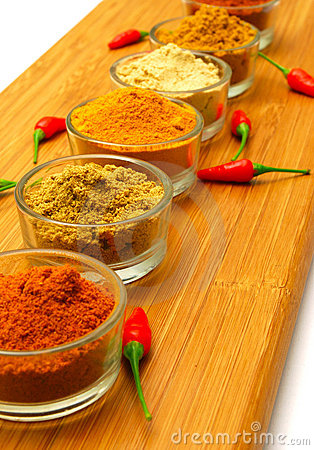 ground  spice and red chilli
