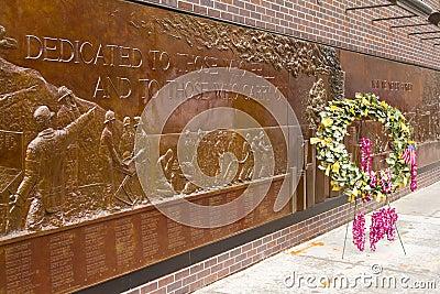 Ground Zero fireman tribute