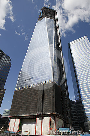 Ground Zero Freedom Tower Royalty Free Stock Image - Image: 24209206