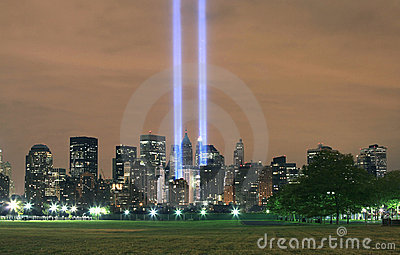 Ground zero from NJ Editorial Stock Image