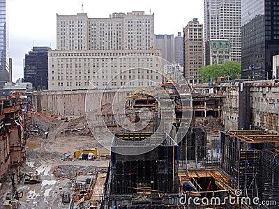 Ground zero NY Editorial Stock Photo
