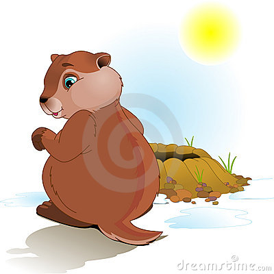 Free Groundhog Day Royalty Free Stock Photos - 12496498