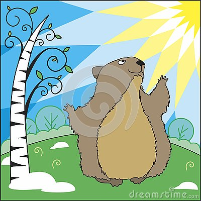 Free Groundhog Day Royalty Free Stock Photo - 133538675
