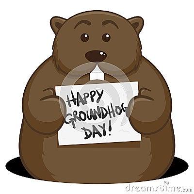 Free Groundhog Day Royalty Free Stock Image - 23121036