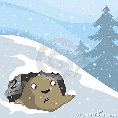 Free Groundhog Day Royalty Free Stock Photo - 48963495