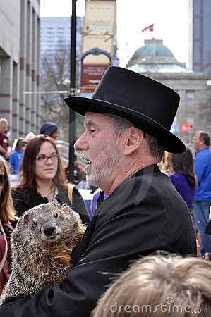 Groundhog Day, Raleigh Editorial Image