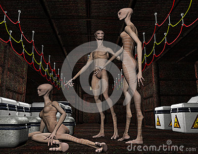 Group alien life forms