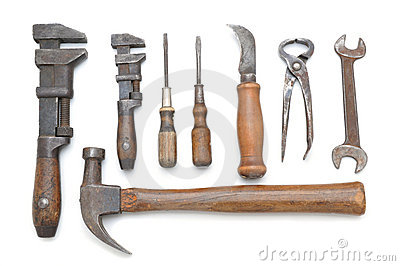 Group of Antique Tools