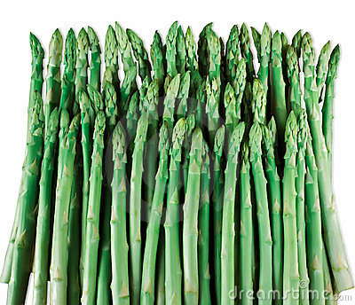 Group of asparagus