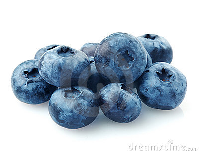Group of blueberries