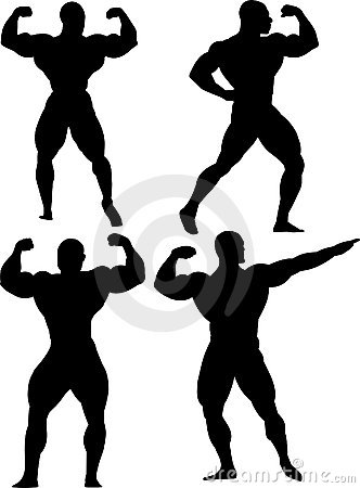 Group of bodybuilders
