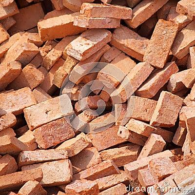 Group of bricks square