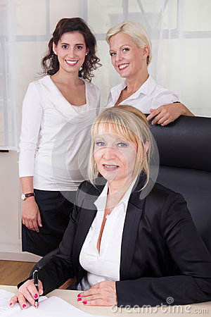 Group of businesswomen in the office
