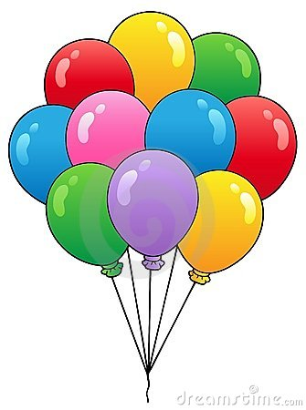 Group of cartoon balloons 1