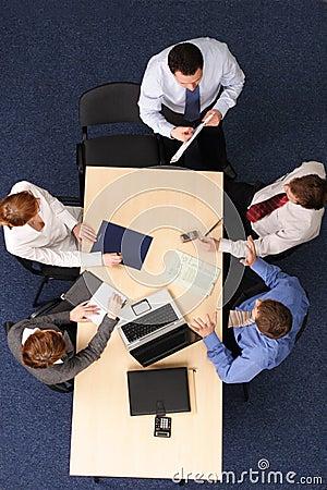 Free Group Coaching Royalty Free Stock Image - 2911656