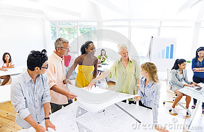 Group of Designers Planning for a New Project
