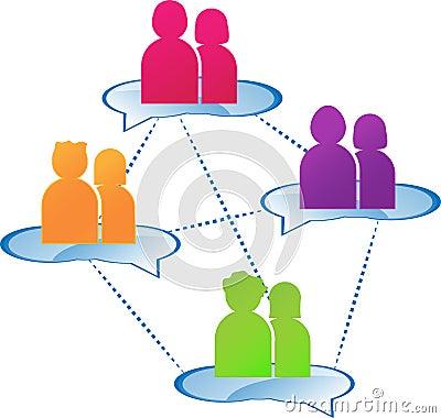 Free Group Dialogue Stock Photography - 21553012