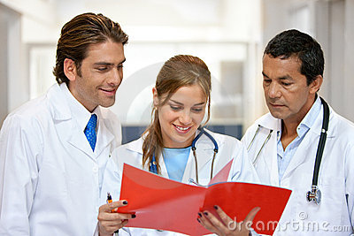 Group Of Doctors Royalty Free Stock Photography - Image: 10265847