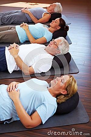 Free Group Doing Meditation Royalty Free Stock Image - 16897326