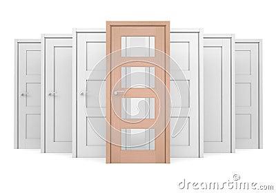 Group of doors