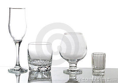 Group of glasses