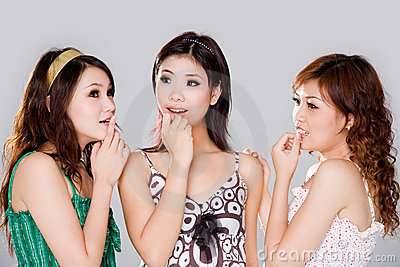 Group of gossip girls