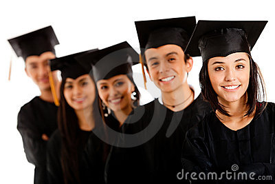 Group of graduates
