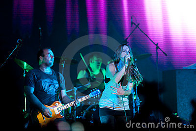 Group Guano Apes Editorial Stock Image