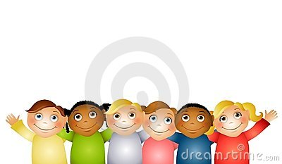 Group Hug Children Friends