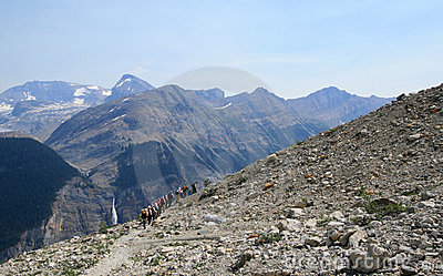Group on Iceline Trail