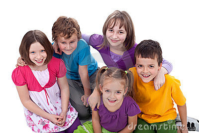 Group of kids - friends forever