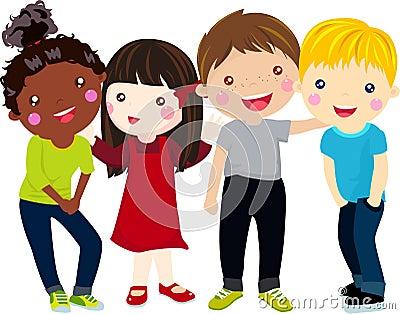 group of kids having fun stock images image 35719724