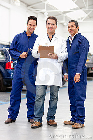 Group of mechanics
