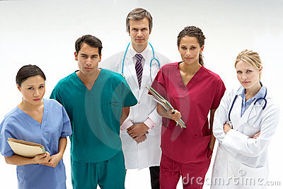 Group of medical professionals