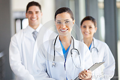 Group medical workers