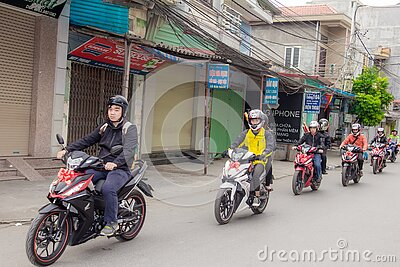 Group Of Motorcyclists Free Public Domain Cc0 Image